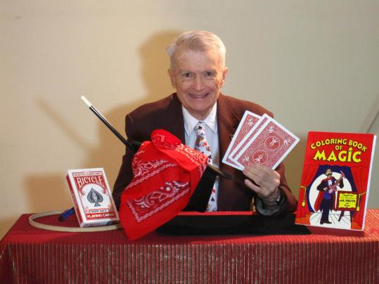 Magician Gil Stubbs will share his secrets in Wellesley.