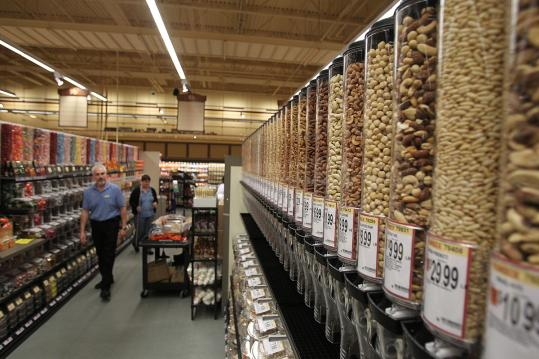 Wegmans Food Markets offered a sneak preview yesterday of the Northborough store - the first in Massachusetts.