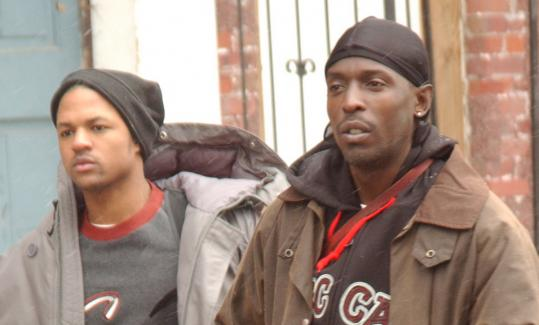 Omar Little, right, played by Michael K. Williams, robbed and killed drug dealers in 'The Wire.'