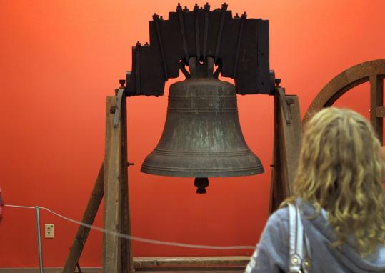 When the 876-pound bell is placed inside the tower of the Old South Meeting House, it will be the smallest and oldest Paul Revere bell on the Freedom Trail.