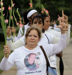 Laura Pollan participated in a weekly protest in Havana in November 2010.