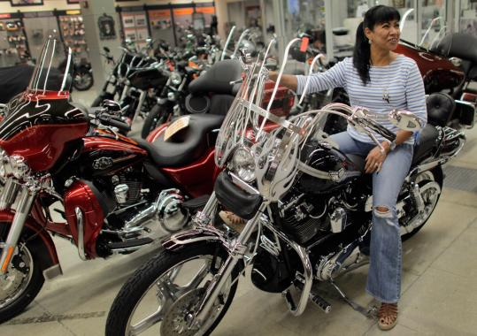 HARLEY-DAVIDSON - The Milwaukee motorcycle maker said it earned $183.6 million, or 78 cents per share, for the thi