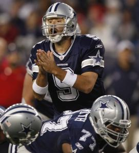 Outside of the offsetting penalties, Cowboys QB Tony Romo didn't attempt one pass 20 yards or more against the Patriots.