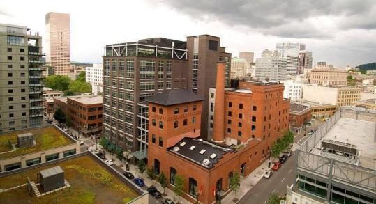 The 319 A St. project is similar to a Gerding Edlen project in Portland, Ore., where it redeveloped five blocks of brewery buildings (above).