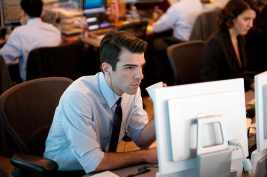 "Zachary Quinto stars in and is a producer of ""Margin Call.''"