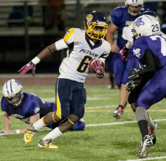 Putnam running back Melquawn Pinkney has rushed for 1,332 yards - in the past four games.