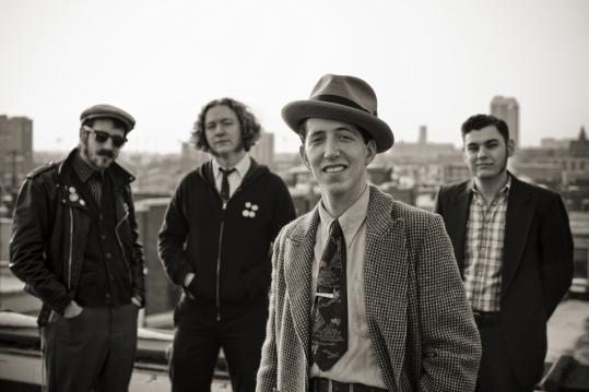 Pokey LaFarge and the South City Three includes (from left): Ryan Koenig, Adam Hoskins, LaFarge, and Joey Glynn.