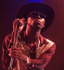 Rapper Theophilus London (shown at the House of Blues in September) has also appeared in ads for Nike and Gucci.