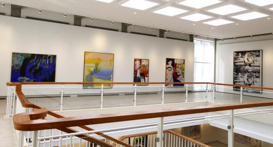 The Rose Art Museum, no longer threatened with closure, has been renovated and will feature two new exhibits when it reopens Thursday.