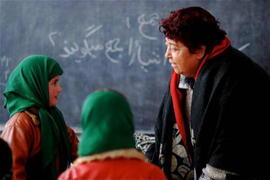 Razia Jan opened the Zabuli Education Center in her homeland of Afghanistan four years ago to educate girls.