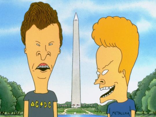 "Mike Judge's Beavis and Butt-head return to MTV, ridiculing reality TV. The show is followed by a new animated series, ""Good Vibes'' (below), which also prides itself on crude humor."