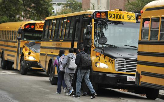 Late buses forced students at the Thomas Edison K-8 School to spend mornings making up for lost time.