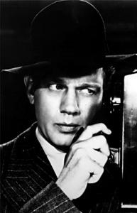 Joseph Cotten in Alfred Hitchcock&#8217;s &#8220;Shadow of a Doubt,&#8217;&#8217; part of a noir double bill tomorrow at Jordan Hall.