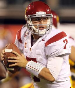 Quarterback Matt Barkley has seen USC lose to Stanford two drastically different ways.