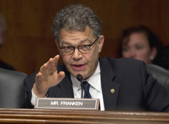 Senator Al Franken seeks to strengthen a 2008 law.