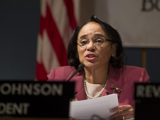 Superintendent Carol R. Johnson