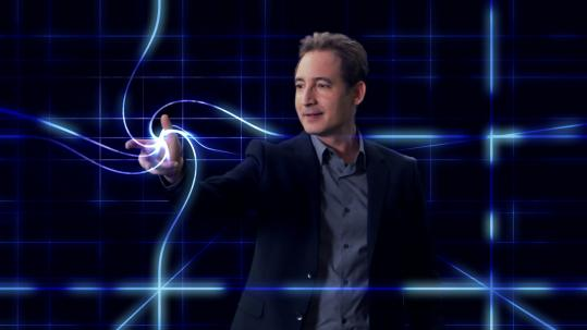 "Aided by computer animation, physicist Brian Greene explores the frontiers of space, time, and the universe in ""The Fabric of the Cosmos.''"
