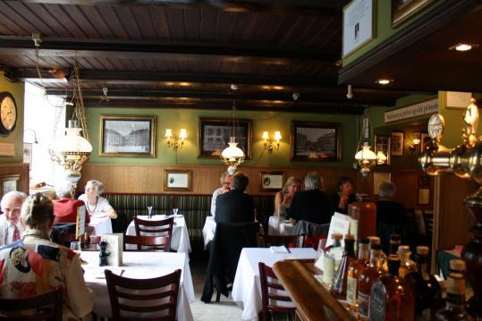 The menu at Restaurant Schonnemann, in Copenhagen, offers 90 old and new smorrebrod.