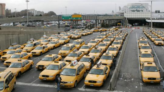 In New York City, where the number of taxicab medallions is fixed at 13,237, the only way to get one is to buy one from