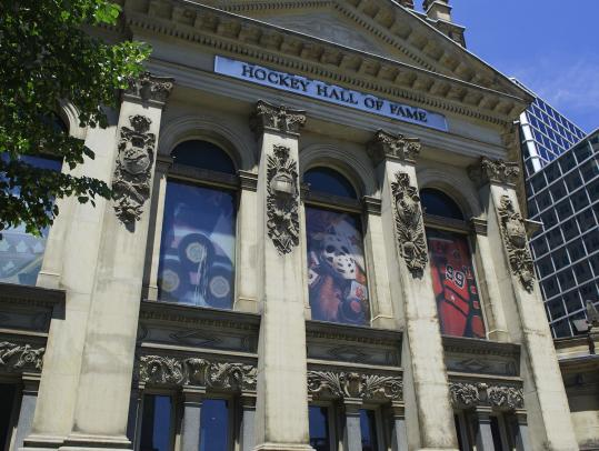 The Hockey Hall of Fame in Toronto is housed in an old bank building, and it's worth its weight in gold to Canadians.