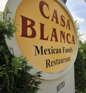 The Casa Blanca restaurant in North Andover. Many of the town's restaurant owners are opposed to a meals tax hike.