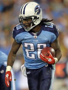 Though he has just one TD and one 100-yard game, Chris Johnson submitted an encouraging performance last week.