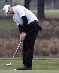 Nick Pandelena of St. John's Prep shot a 1-under 71 at Glen Ellen CC, then won on the first playoff hole.