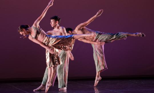 The four Trisha Brown dance