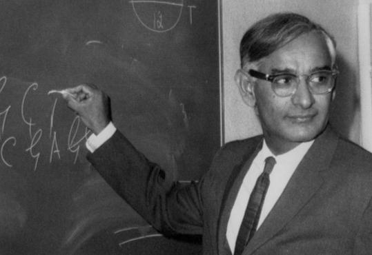 Har Gobind Khorana demonstrated how nucleotides control the formation of proteins in cells.