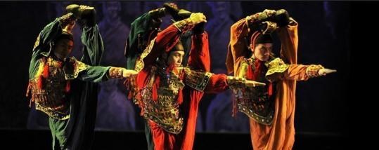 """Emperor Qin's Soldiers,'' choreographed by Chen Weiya."