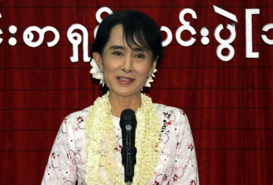 Suu Kyi has been pushing for democracy for decades.