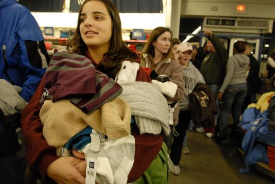 The day after Thanksgiving kicks off holiday shopping, but Mass. retailers aren't allowed to gear up on the holiday itself.