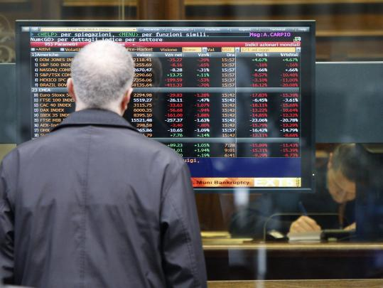 Italy's financial crisis has affected European stock markets. The country is under pressure to reassure financial markets that it will avoid a default that could affect the European Union.