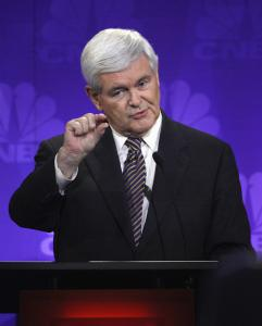 Newt Gingrich reportedly received at least $1.5 million from Freddie Mac, the agency he has been attacking of late.