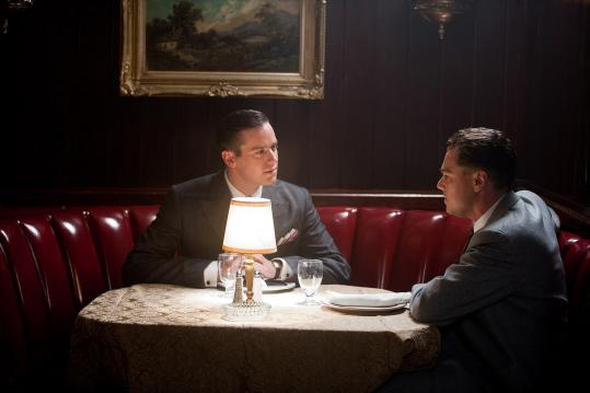 "Armie Hammer (left) and Leonardo DiCaprio in ""J. Edgar.''"
