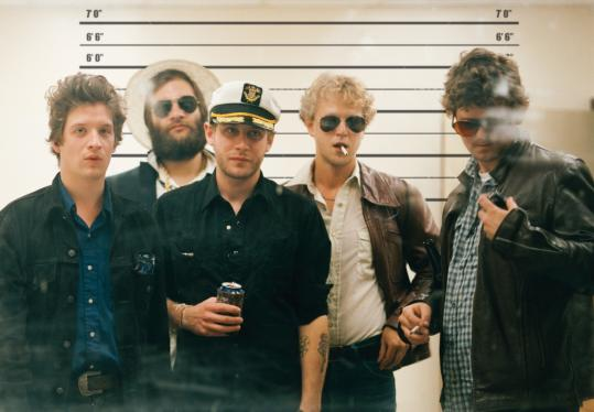 """I want guitars. I want drums. I want somebody screaming something at me. Or I just want some honesty,'' says Deer Tick leader John McCauley (center)."