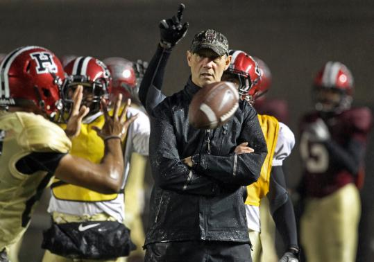 Tim Murphy had his team practicing in the rain Wednesday, but the coach has been a ray of sunshine for the Harvard program.