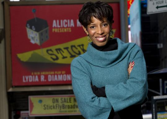 "Lydia R. Diamond's ""Stick Fly'' was a hit at the Huntington Theatre Company in 2010, and now it's on Broadway."