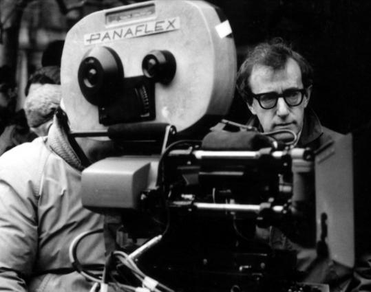 "Woody Allen in the ""American Masters'' documentary about his life and career. ""I put a higher value on the tragic muse than the comic muse,'' he says in the film, part 1 of which airs tonight."