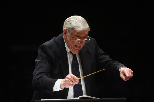 Gunther Schuller (pictured in New York in 2007) conducted Alea III at Boston University on Wednesday.