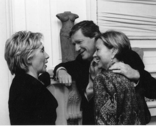 Richard Holbrooke with his wife, Kati (right), and Hillary Rodham Clinton in an undated photo.