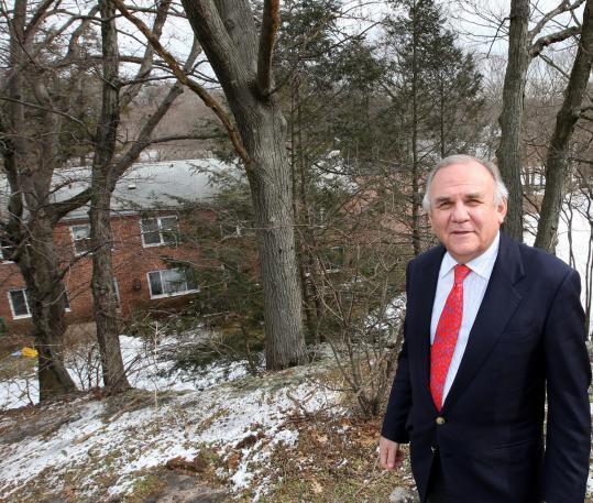 As head of Chestnut Hill Realty, Edward E. Zuker has overseen the development of Hancock Village in Brookline.