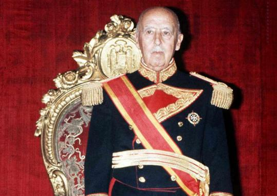 Spanish dictator General Francisco Franco died on Nov. 20, 1975, after nearly four decades of absolute rule.