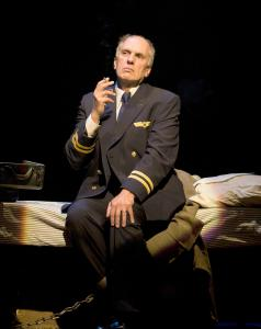 "Michael Cristofer as Adolf Eichmann in the Huntington Theatre Company production of ""Captors'' by Evan M. Wiener."