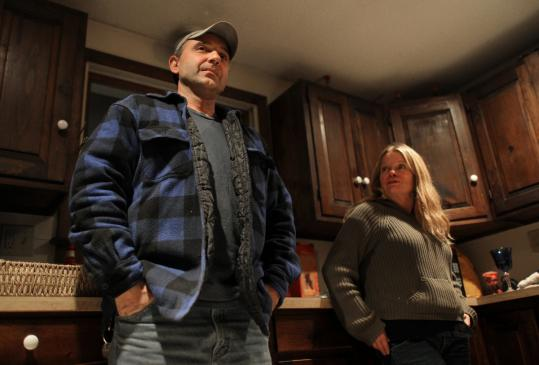 Michael Troila, and his wife, Darlene, of Ashland, N.H., have no health insurance; they say it's too expensive.