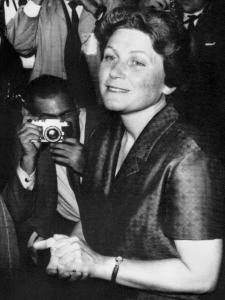 Svetlana Alliluyeva in 1967, the year she defected to the United States.