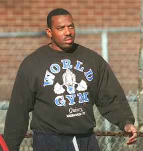 Officer David C. Williams, shown in 1997, faces disciplinary action in an arrest that left a man injured.