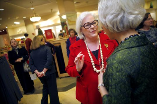 Talbots CEO Trudy Sullivan's contract expires in January.