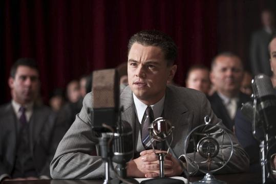 "Leonardo DiCaprio portrays former FBI director J. Edgar Hoover in ""J. Edgar,'' directed by Clint Eastwood."