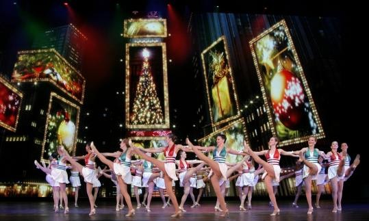 The Rockettes performing at the Wang Theatre this month bring the same high-kicking perfection shown by the larger troupe in New York's Radio City.